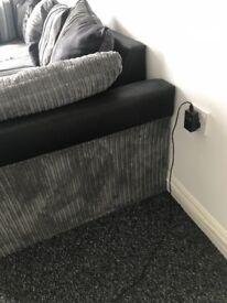 Medium size corner sofa