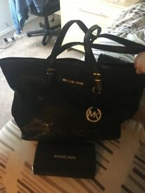 Mk bag and purse