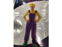 Men's super mario costume XL