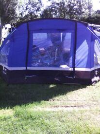 Eurohike Hampton 6 Person Family Tent | in Hartlepool