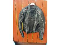 Motorbike Jacket & Trousers with full body armour