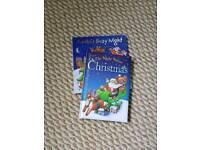 Christmas books.
