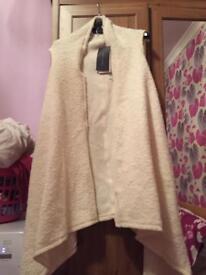 Ladies waistcoat small Zara