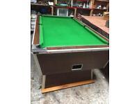 Pool Tabl 7x4 slate bed