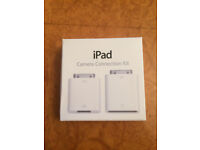 New - iPad camer connection kit