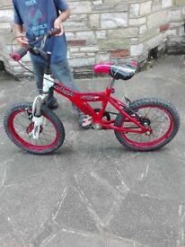 "Raleigh Mission 20"" kid bike / Scorpion Power 10""kid bike / Raleigh 16"" kid bike"