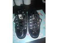 Ladies fila trainers size 4