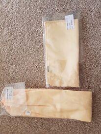 Dessy Cravat & Pocket Square/Handkerchief