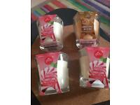 4 new candles
