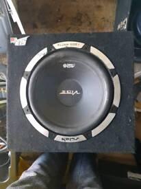 Car bass box