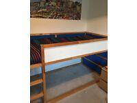 IKEA cabin bed, no mattress