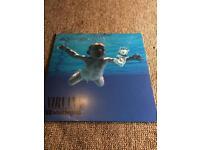 NIRVANA NEVERMIND LP VINYL RECORD REISSUE EXCELLENT CONDITION KURT COBAIN
