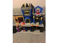Fisher Price Imaginext DC Super Friends Batman Gotham City Joker Bank Playset.
