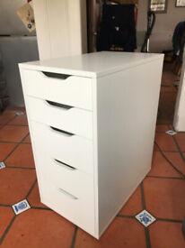 5 Drawer IKEA 'Alex' office drawers