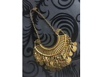 Statement Necklaces Gold! Bargain Not To Be Missed!