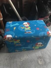 Handy manny toy box