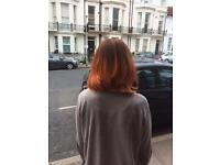 Graduate stylist/home hairdressing