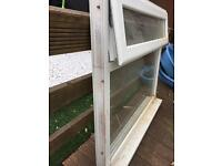 UPVC WINDOW WITH SILL WHITE