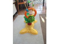 Baby ride-on bouncer