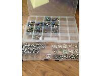 European charms beads over 600 brand new