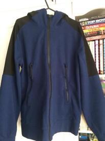 C.P Company hooded open sweatshirt Medium