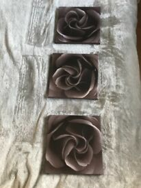 Rose canvases