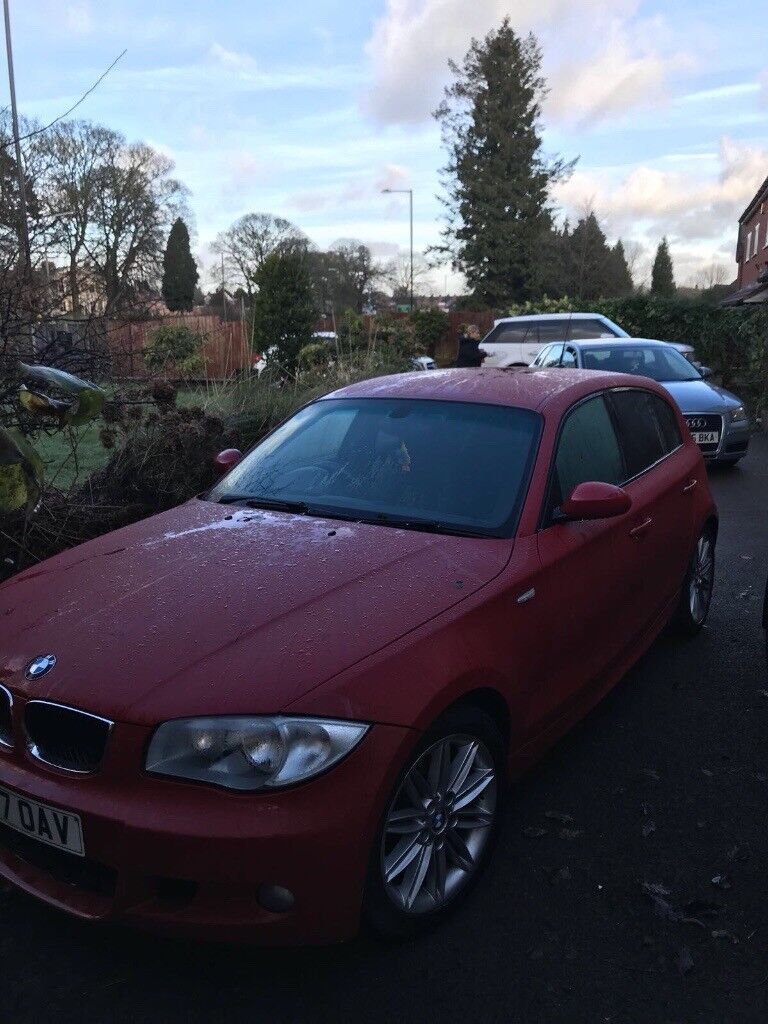 BMW 1 SERIES SPORT IN RED 2007