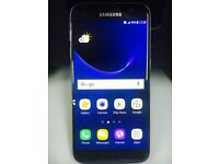 Samsung galaxy S7 SM-G930 Smart Mobile phone unlocked. Black 32GB WITH warranty & Receipt