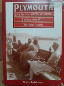 Plymouth History Box Set by Chris Robinson - Life in the 1920s & 30s, Before The War, The War Years