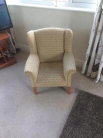 Hand made child's chair