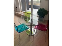 Dining table and 4 chairs for sale in Belsize Park