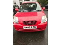 KIA PICANTO 1.1 LX 5 DOOR HATCHBACK 05 REG,, CHEAP TO RUN AND INSURE,, MOT 24TH JANUARY 2021