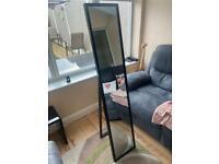 Full length mirror black frame