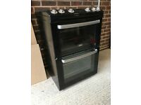 Zanussi free standing double gas cooker and hob