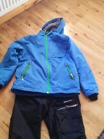 Boys ski suit