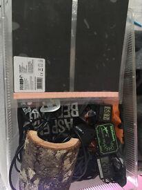Hatchling snake Terrarium (incl thermostat +)