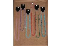 joblot 450 childs/adults extendable resin bead necklace'