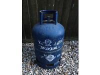 Butane gas bottle 15kg approx half full