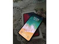 For sale iPhone X 64gb unlocked touch half work urgent new display