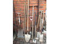 Labourers tools