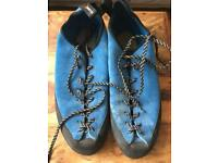 Climb X Climbing shoes size 12