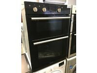 Hotpoint DD2540BL Built-In Double Oven - Black