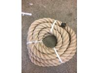 44mm synthetic decking rope x 7 metres, brand new, decking rope, garden, rope, outdoor