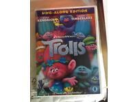 Brand new Trolls DVD