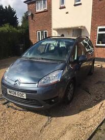 Citroen C4 Grand Picasso for sale or swap with cash my way.