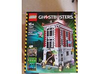 Lego Ghostbusters Firehouse 75827 Set Brand new unopened 100% Genuine Lego Item