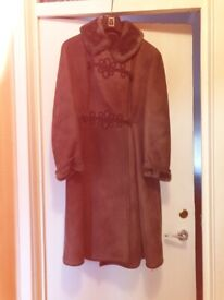 Ladies quality sheepskin coat