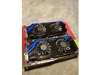 MSI GeForce GTX 670 Power edition /OC (x2)
