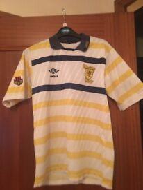 14fb229f6d1 Liverpool home shirt 83 85 in good condtion original Umbro shirt ...