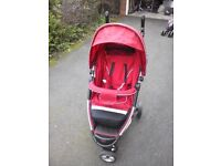 Pouch 3-wheels Baby Pushchair